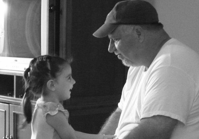 Caroline & Uncle Geo